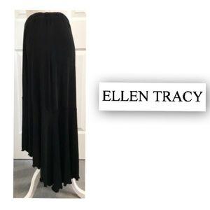 Ellen Tracy, Kikiriki Mermaid Black Long Skirt